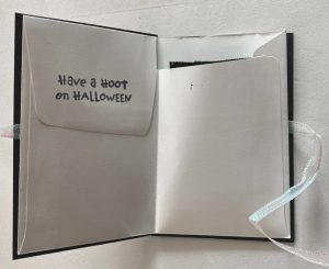 halloween envelope treat bag