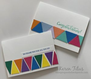 how to make quilted note cards