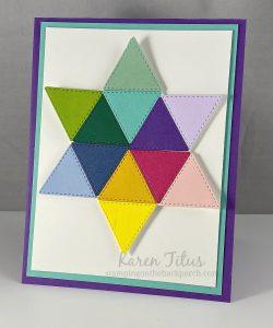 star quilt card
