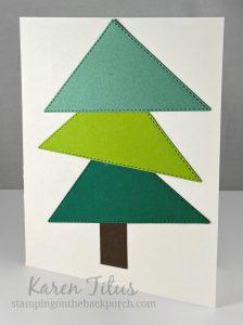easy tree card