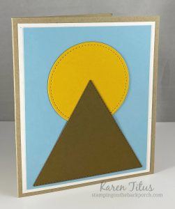 moon over the mountain quilt card