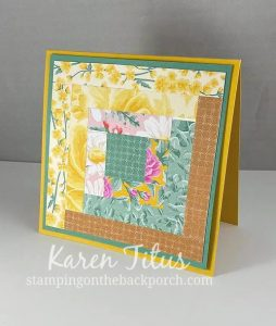 patchwork quilt cards