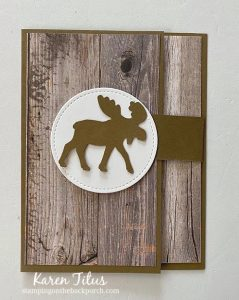moose punch flap card