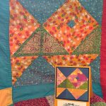quilt blocks turned into cards