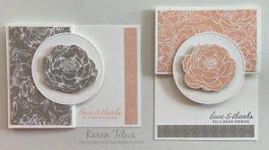 designer series paper card ideas