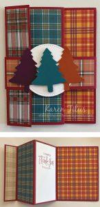 Tree Punch Fun Fold Card
