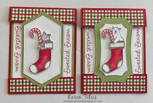 fun fold christmas card