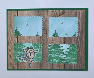 Way to Goat stampin up card
