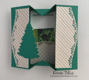 fun fold box card