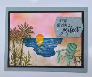 sending sunshine stamp set card