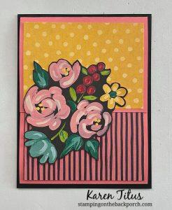 Flower & Field Quick Fun Fold Card
