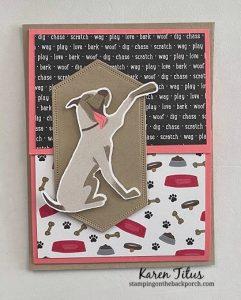 playful pets fun fold card