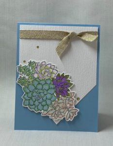 Simply Succulents Stampin Up