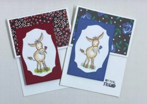 Darling Donkeys Stampin Up