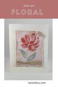 fine art floral stampin up