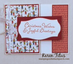 christmas gift card holder card