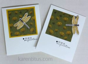 Dandy Garden DSP dragonfly cards