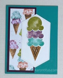 Sweet Ice Cream Bundle card