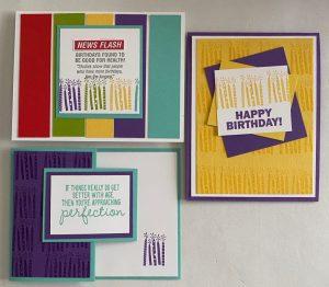 quick birthday cards