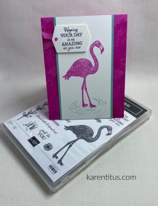 distinctive flamingo stamps