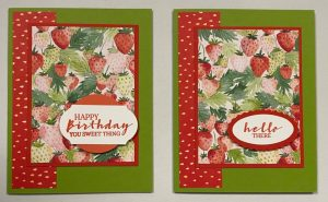 berry delightful one sheet wonder cards