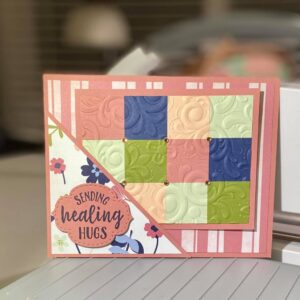 pocket quilt card