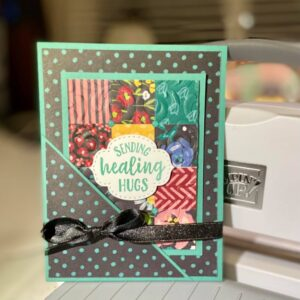 how to make a pocket quilt card