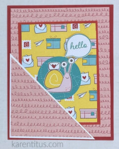 snail mail pocket card