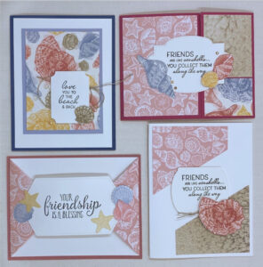 easy patterned paper cards