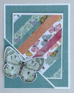 butterfly bouquet pocket card