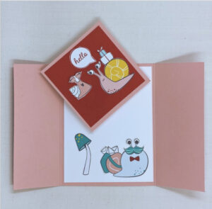 snail mail card inside