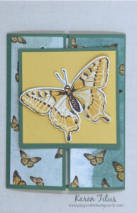 Butterfly Slide and Lock Card