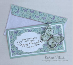 envelopes to match your handmade cards