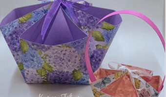 easy paper baskets to make