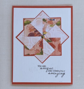 pretty pinwheel cards