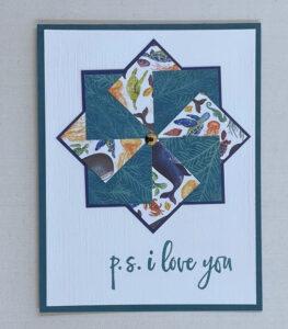 pinwheel card for kids