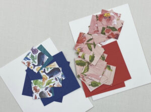 instructions for making pinwheel cards