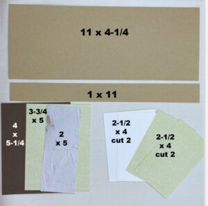 step by step directions on making a fun fold card for a crafter