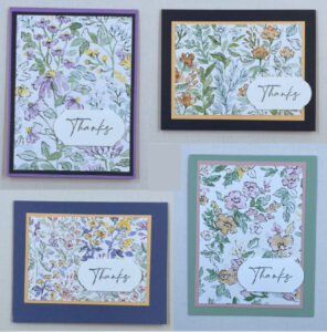 layering tips for cardmaking
