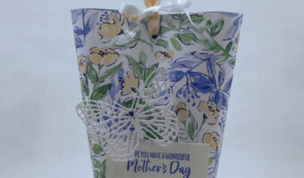 Box in a Bag Tutorial for a lovely gift wrap