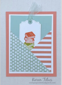 easy criss cross card to make