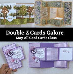 Double Z Folds Online Card Class