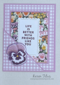 easy pocket card tutorial with pansy patch
