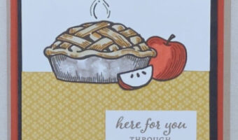 apple pie card stampin up