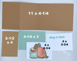 united through creativity card directions