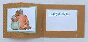 united through creativity inside card