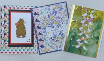 easy lattice cards to make