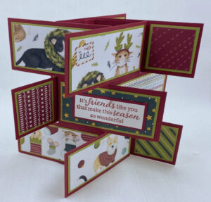 how to make a tower flap card tutorial