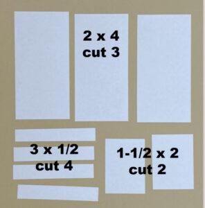 6 x 6 One Sheet Wonder template