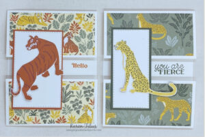 6 x 6 One Sheet Wonder cards Wild Cats